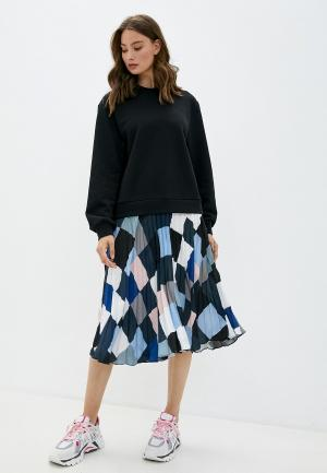 Платье Markus Lupfer. Цвет: синий
