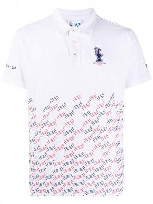 Рубашка поло Valencia из коллаборации с 36th Americas Cup presented by Prada North Sails. Цвет: белый