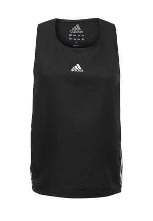 Майка спортивная adidas Combat. Цвет: черный