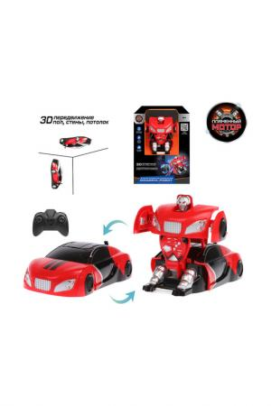 Машина-робот ПЛАМЕННЫЙ МОТОР. Цвет: красный