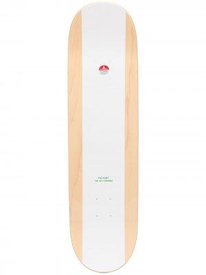 Доска для скейтборда Рассвет 8.375 PACCBET. Цвет: нейтральные цвета