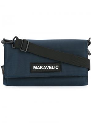 Сумка на плечо Makavelic. Цвет: синий