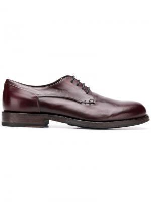 Lace-up shoes Pantanetti. Цвет: коричневый