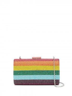 Клатч Ellen с кристаллами SERPUI. Цвет: разноцветный