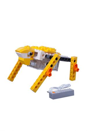 Конабор «Робот лягушка» 55 дет BONDIBON. Цвет: желтый