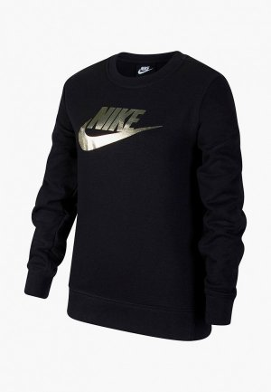 Свитшот Nike. Цвет: черный
