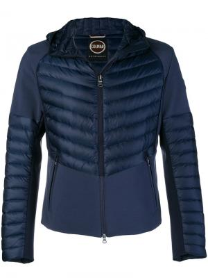 Пуховая куртка с капюшоном Colmar. Цвет: синий