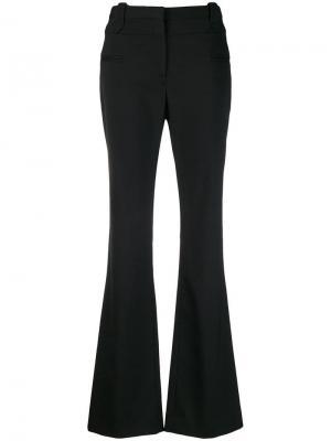 Классические расклешенные брюки Altuzarra. Цвет: черный