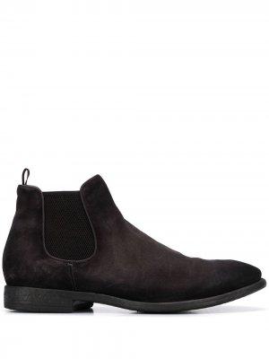 Ботинки по щиколотку Officine Creative. Цвет: серый