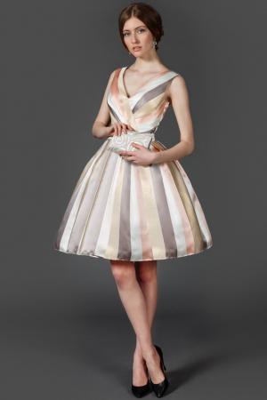 Платье To Be Bride. Цвет: бежевый