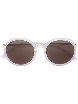 Солнцезащитные очки n x Dries Van Noten Linda Farrow. Цвет: розовый