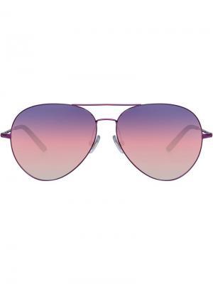 Aviator frame sunglasses Matthew Williamson. Цвет: розовый