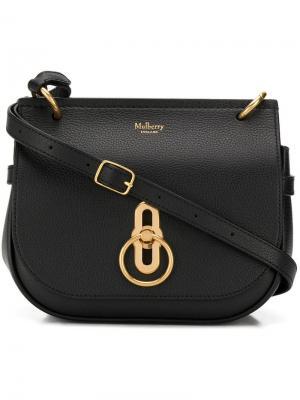 Amberley satchel small Mulberry. Цвет: черный