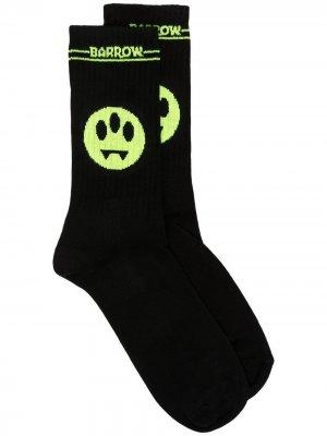Носки с логотипом BARROW. Цвет: черный