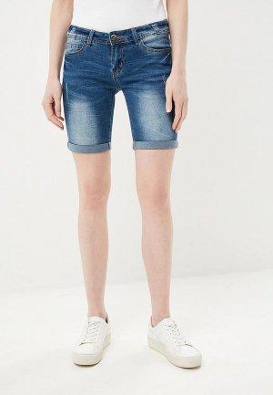 Шорты джинсовые Baon. Цвет: синий
