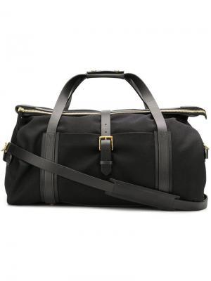 Большая дорожная сумка Mismo. Цвет: черный