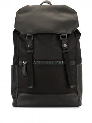 Рюкзак с кулиской Shanghai Tang. Цвет: черный