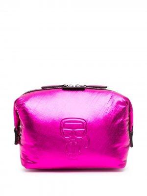Несессер Ikonik Karl Lagerfeld. Цвет: розовый