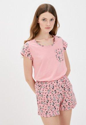 Пижама Winzor. Цвет: розовый
