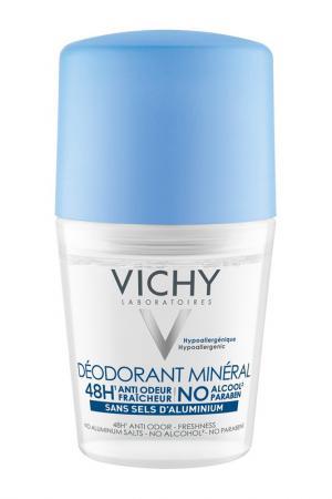 Дезодорант минеральный 50 мл VICHY. Цвет: белый
