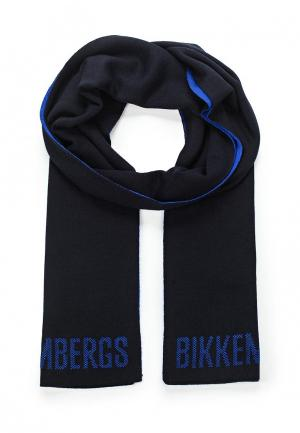 Шарф Bikkembergs. Цвет: синий