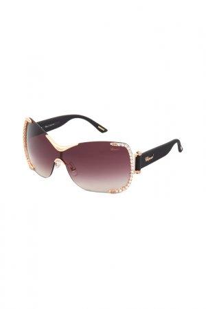 Солнцезащитные очки Chopard. Цвет: бордовый