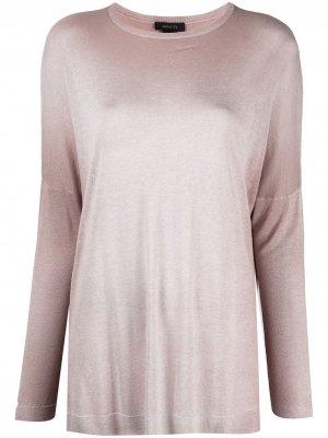 Джемпер с приспущенными плечами Avant Toi. Цвет: нейтральные цвета