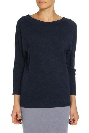 Блуза Alina Assi. Цвет: темно-синий