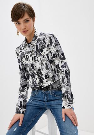 Куртка джинсовая Liu Jo. Цвет: серый