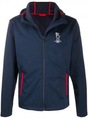 Куртка из коллаборации с 36th Americas Cup presented by Prada North Sails. Цвет: синий