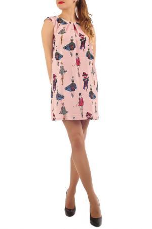 Платье Lamiavita. Цвет: розовый