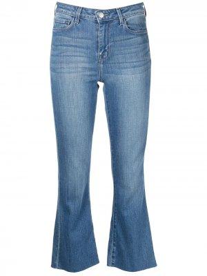LAgence укороченные расклешенные джинсы Kendra L'Agence. Цвет: синий