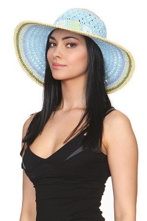 Шляпа Tonak. Цвет: голубой