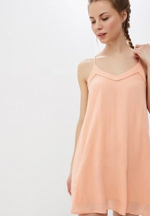 Платье Roxy. Цвет: коралловый