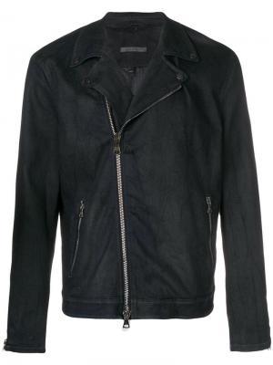 Biker jacket John Varvatos. Цвет: синий