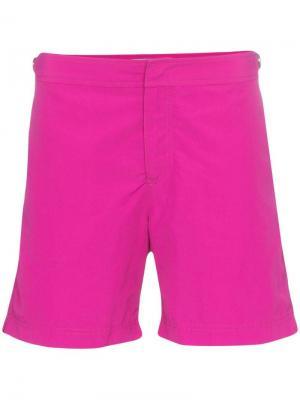 Пляжные шорты paradise Orlebar Brown. Цвет: розовый
