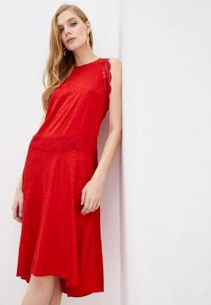 Платье Zadig & Voltaire. Цвет: красный