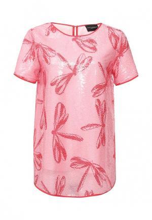 Блуза Atos Lombardini. Цвет: розовый