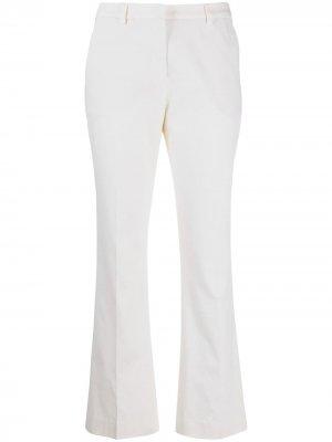 Расклешенные брюки Pt01. Цвет: белый