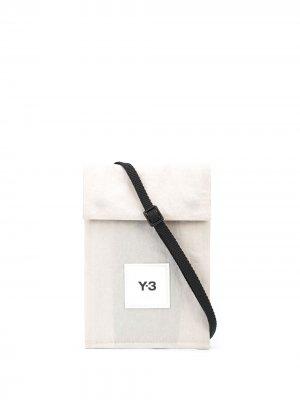 Мини-сумка Ch3 Y-3. Цвет: серый