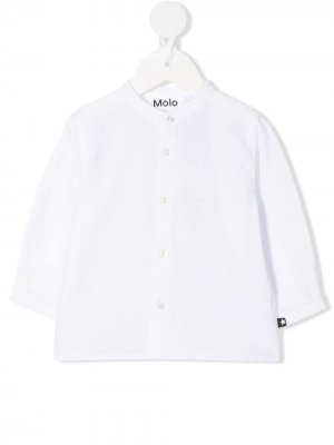 Рубашка на пуговицах Molo. Цвет: белый