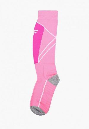 Термоноски 4F. Цвет: розовый