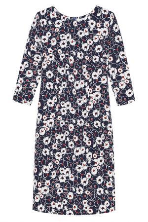 Платье La Reine Blanche. Цвет: синий