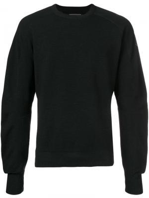 Однотонный свитер Napapijri. Цвет: черный