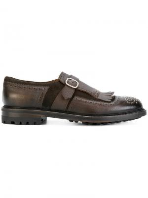 Туфли-монки Doucal's. Цвет: коричневый