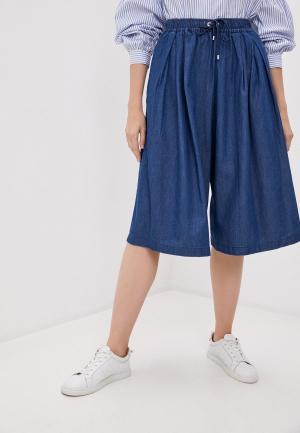 Брюки DKNY. Цвет: синий