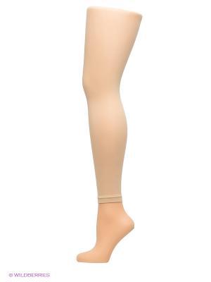Леггинсы Arina Ballerina. Цвет: бежевый