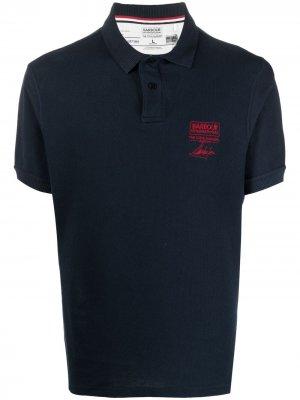 Рубашка поло B.Intl Steve McQueen Barbour. Цвет: синий