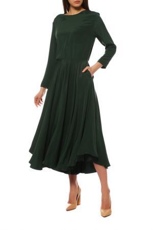Платье BALLY. Цвет: зеленый