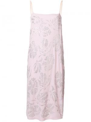 Платье на бретельках Nº21. Цвет: розовый
